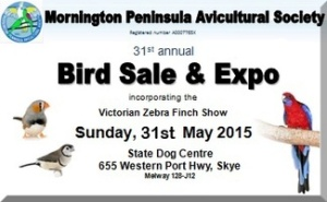 Bird Sale 2015 front page button 19 Feb 15